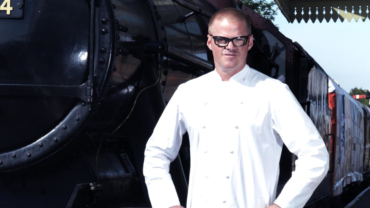 Heston Blumenthal rekindles the love for the most important meal of the day by making the world's largest boiled egg. Then he caters to busy commuters by serving breakfast on the go in his very own express train.