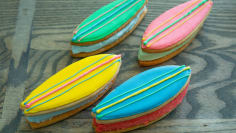 Surfboard Ice Cream Sandwiches